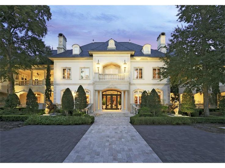 Extravagant french renaissance mansion the woodlands for Beautiful homes in houston