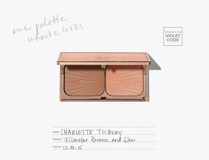 Charlotte Tilbury Filmstar Bronze and Glow l The powder duo that slims, sculpts, highlights, and redefines your facial features l Editor's Pick l The Violet Files l @violetgrey