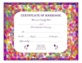 11 best marriage certificates by trulytruly images on free printable certificate of marriage keepsake yadclub Gallery