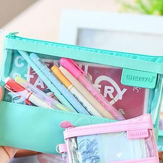 Transparent Pencil Case from #YesStyle <3 Homey House YesStyle.com