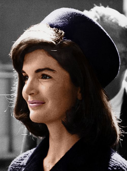 """Even though people may be well known, they hold in their hearts the emotions of a simple person for the moments that are the most important of those we know on earth: birth, marriage and death.""  Jackie Kennedy"
