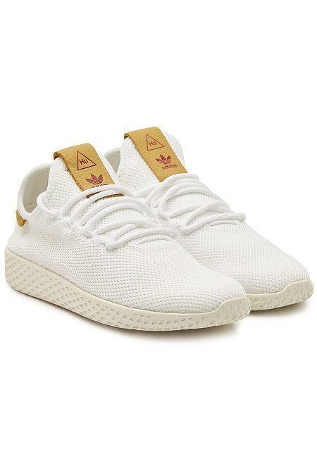 Adidas Originals Pw Tennis Hu Mesh Sneakers White Tennis Shoe Outfits Summer White Adidas Originals Sneakers