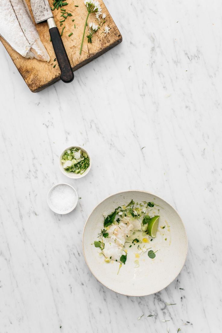 Green Herb Ceviche / Renee Kemps