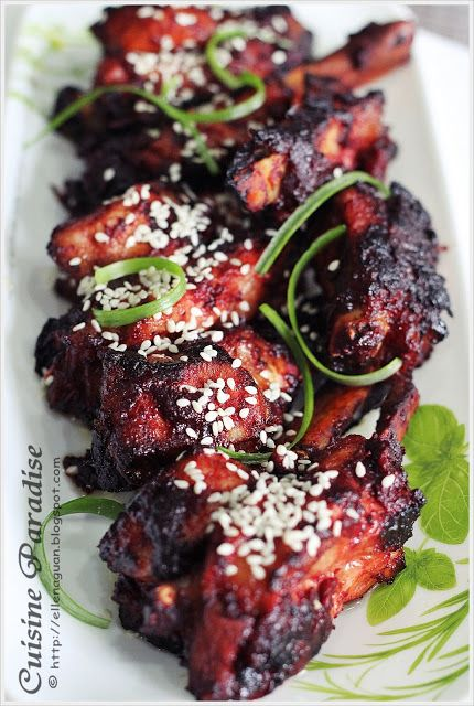 Cuisine Paradise | Singapore Food Blog | Recipes, Reviews And Travel: Baked Spare Ribs with Red Wine Lees