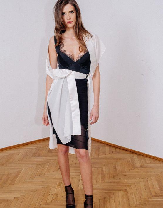 Robe Kimono | Genie Bodysuit | Profane Skirt