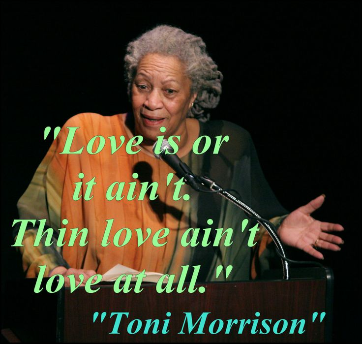 "toni morrison and the black woman A significant strain of morrison criticism has cast jadine's decision to return to france as a confirmation of jadine's rejection of an african-american identity and community, of flight from the ""ancient properties"" of afrocentric notions of femininity (see harris, for example) readings of the woman in yellow as a."