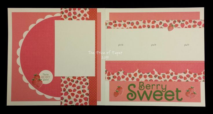 The Price of Paper: National Scrapbooking Month - Taste of Summer