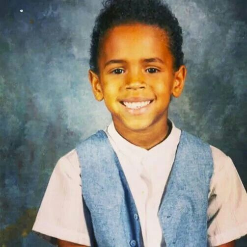 Baby Chris Brown so Cute