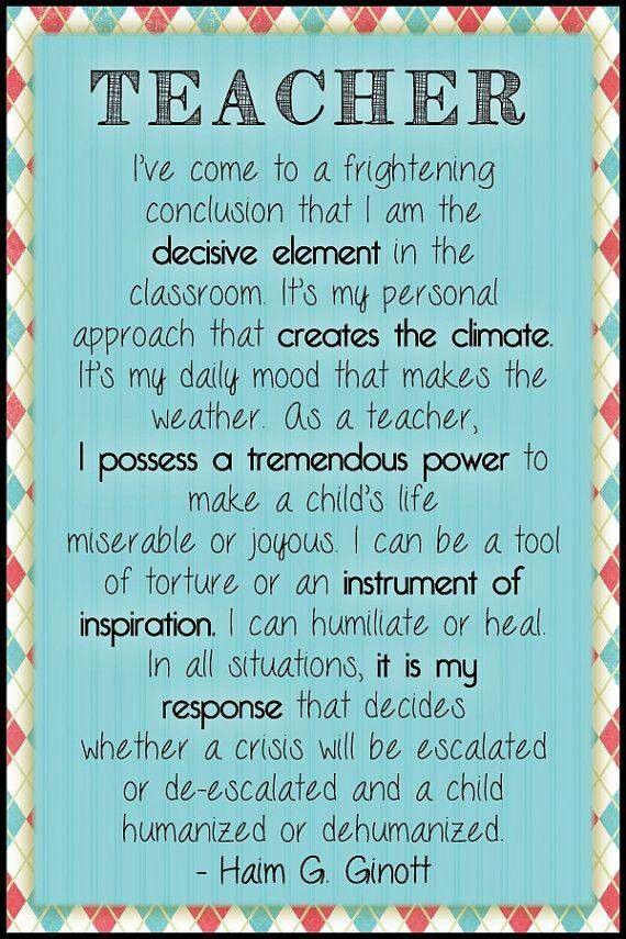 responsibilities of the teacher beyond the blackboard