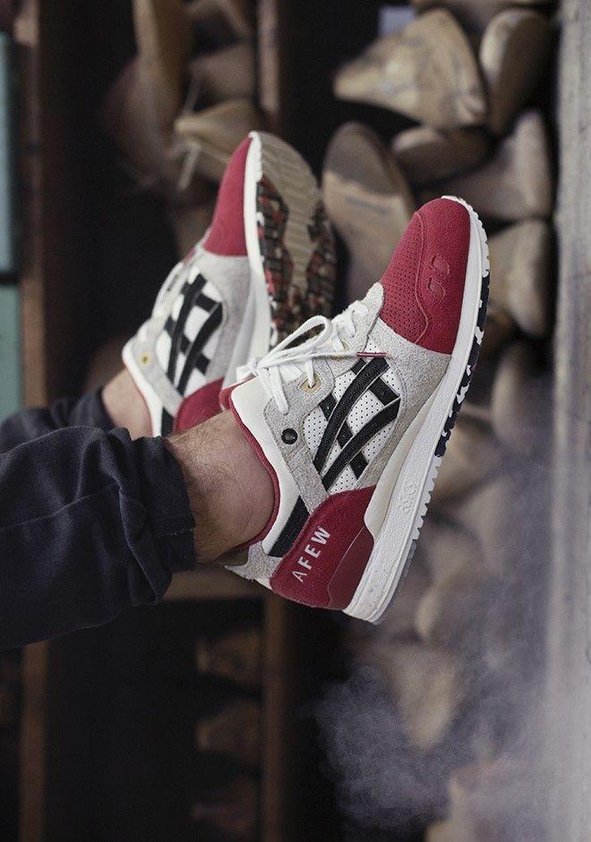 AFEW × ASICS #Sneakers #Zapatillas