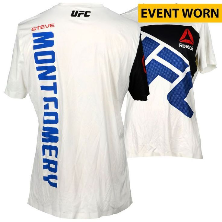 Steve Montgomery Ultimate Fighting Championship Fanatics Authentic UFC 193: Rousey vs. Holm Event-Worn Walkout Jersey - Fought Daniel Kelly in a Middleweight Bout