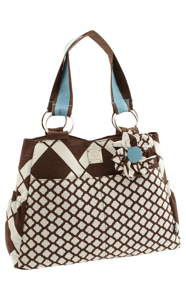 boy diaper bags | ... just a geometric pattern for a little boy but still stylish for you