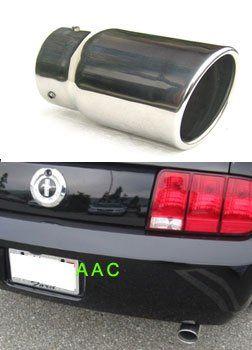 Stainless steel exhaust tip w/ mirror chrome finish - Ford Mustang V6 05-07 AJ http://www.amazon.com/dp/B000WJ139G/ref=cm_sw_r_pi_dp_DVLxwb0CVMT3T