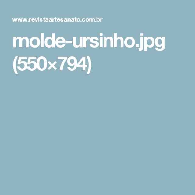 molde-ursinho.jpg (550×794)
