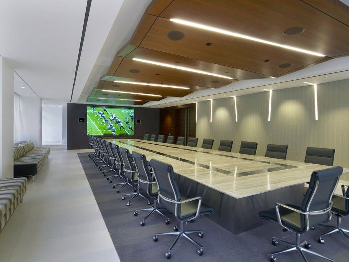 Nfl headquarters conference room office conference room pinterest conference room offices - Football conference south league table ...