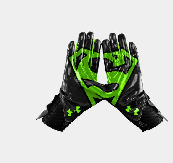 Men's Under Armour® Alter Ego Superman Highlight Football Gloves | 1249948 | Under Armour US