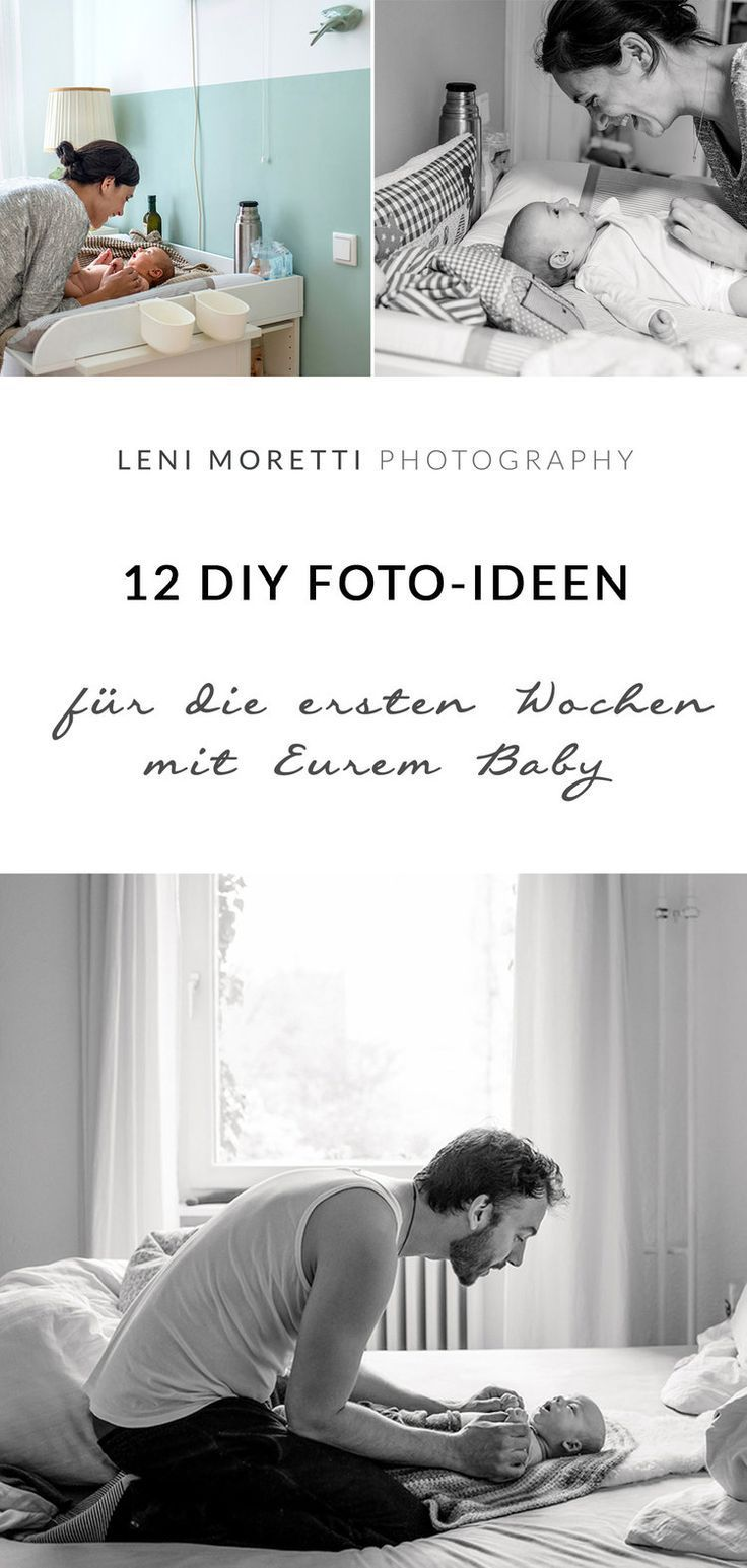 12 Foto-Ideen für die ersten Wochen mit Eurem Baby zu Hause – Beikost, Babybrei & BLW – breirezept.de