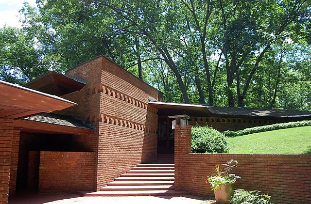 17 best images about f l w william and mary palmer house for Palmer house ann arbor