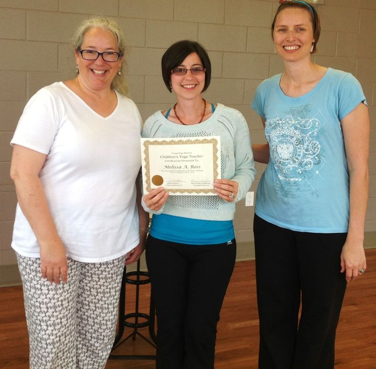 http://www.childrensyogabooks.com/training.html  So proud of Melissa for her accomplishment for completing the 95 Hour Kids Yoga Teacher Training Certification!  Well done!
