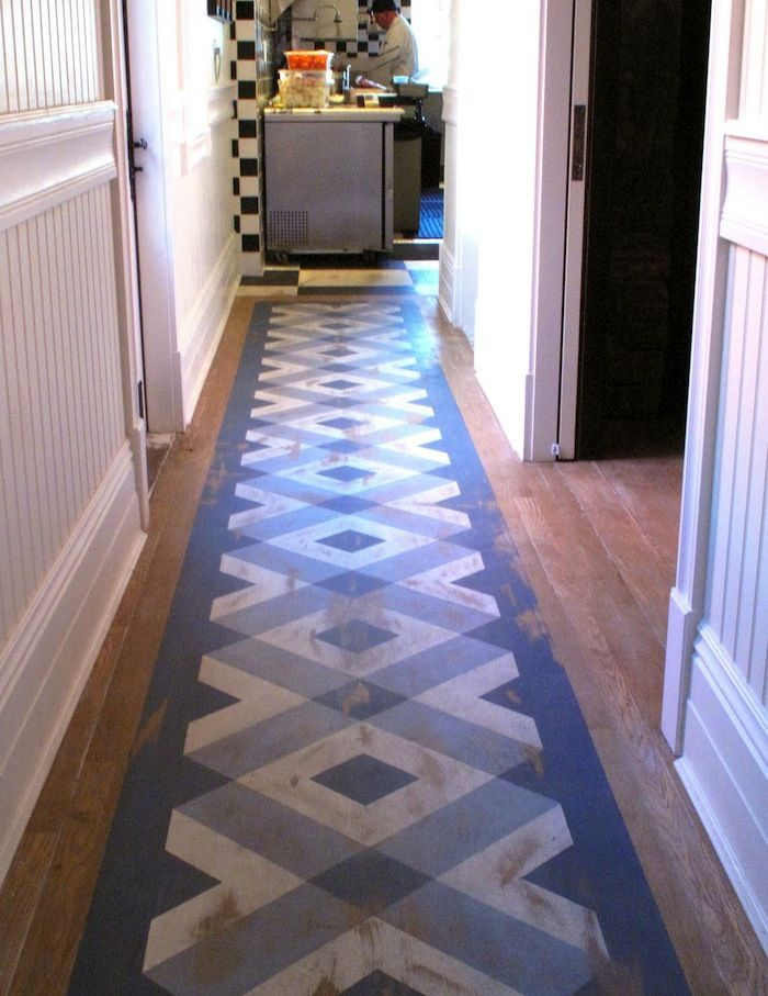 24 Best Stenciling On Wood Floors Images On Pinterest Floor