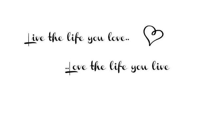 Live the life....