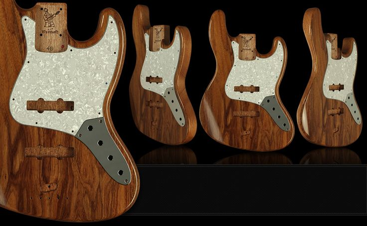 Warmoth Custom Guitar Parts - JBass Body - Oh, my that's an awesome look!