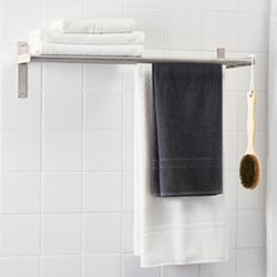 Towel rails and holders