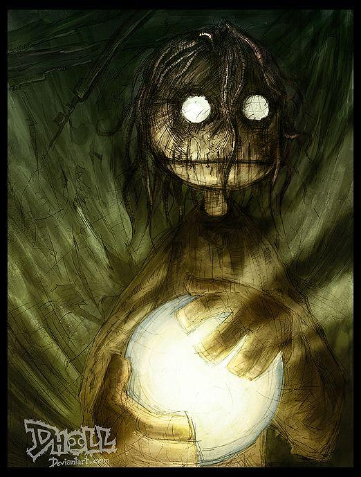 Creepy Illustrations by Dholl-Art