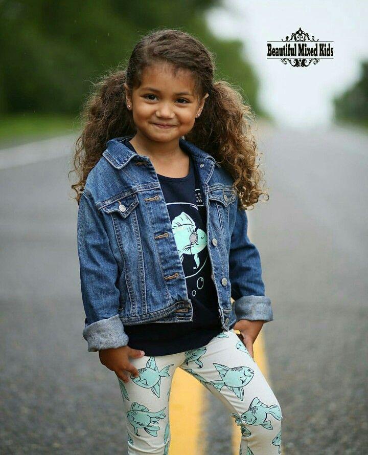Chloe Sue - 4 Years • Dutch, Indonesian & African American ❤ FOLLOW @beautifulmixedkids on instagram