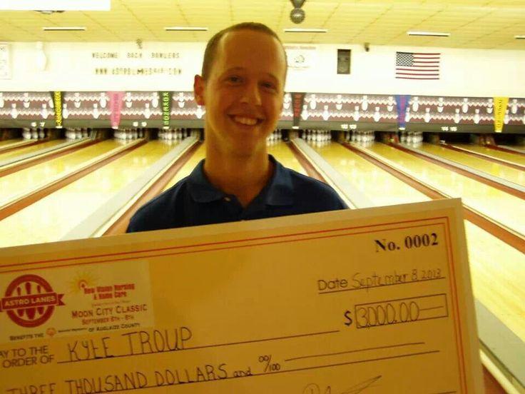 Kyle troup pba regional winner bowling pinterest