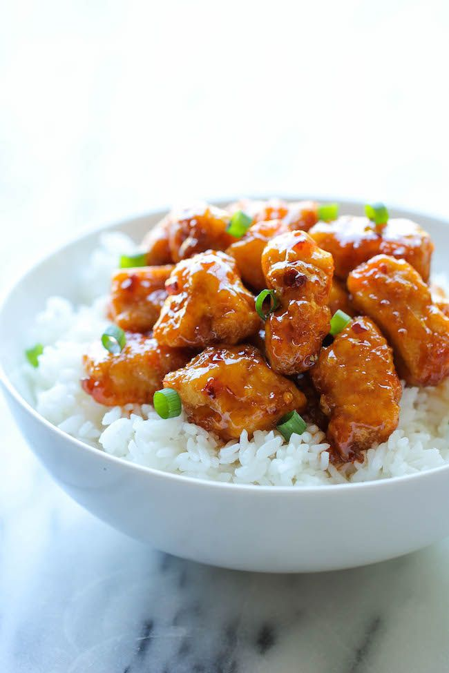 Firecracker Chicken - Damn Delicious