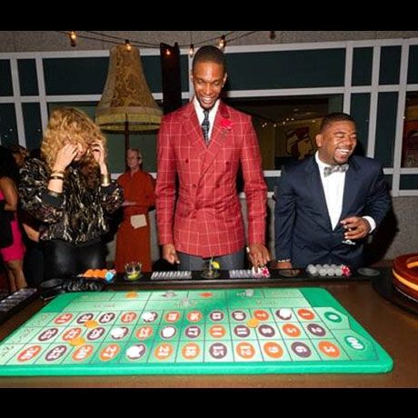 Image result for chris bosh casino birthday party