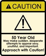 Funny 50th Birthday Signs | 50th Birthday Gag Gifts - Garden Chimes
