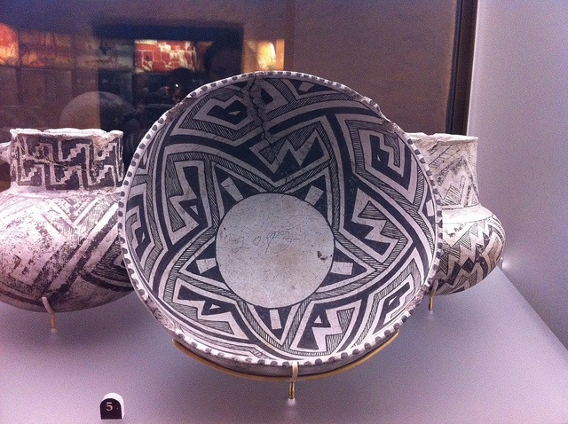 The pre-columbian black on white Pueblo pot collection at The Field Museum is incredible! by Renee Prisble • Mold Making & Casting Chicago, via Flickr