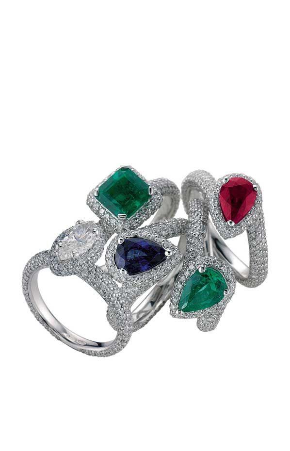 Colore | Digo Valenza: Bling, Gorgeous Iii, Multi Color, Color Rings, Benim Sevdiklerim, Radiant Rainbows, Jewelry Designer, Fine Jewelry