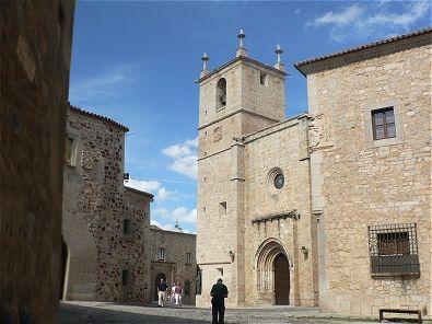 Ciudad Monumental de Cáceres - Concatedral - Plaza de Santa María