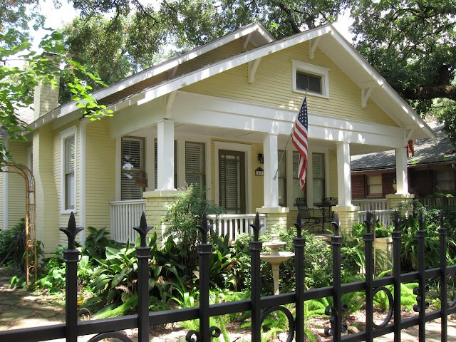 17 best images about all things bungalow on pinterest for Craftsman home builders houston