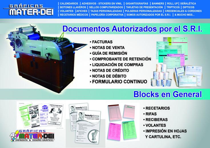 #Autorizados por el S.R.I.
