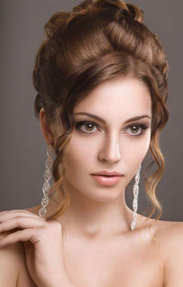 Hochzeit Frisuren Fur Rundes Gesicht Haarschnitte Beliebt In Europa