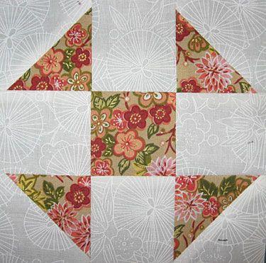 "Free Quilt Block Patterns: Shoo Fly Quilt Block Pattern - 6"" & 12"" Blocks"