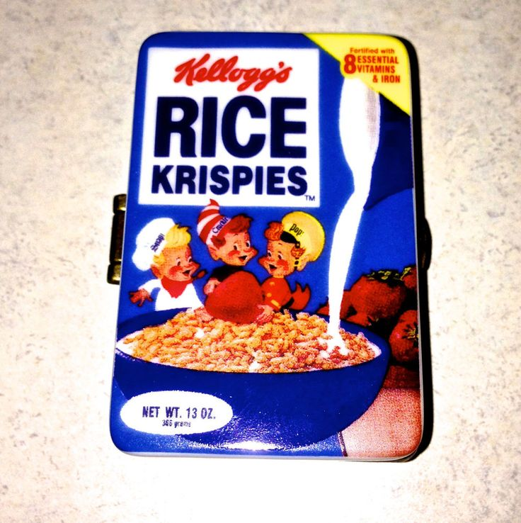 Rice Krispies - COLLECTIBLE! Hinged Trinket Box - PHB KELLOGS. NM - By Midwest  sc 1 st  Pinterest & 187 best Kelloggs images on Pinterest | Cereal boxes Mr t cereal ... Aboutintivar.Com