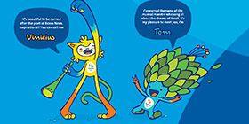 Olympic Mascots, Rio 2016
