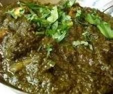 Recipe Saag Gosht - Mild Lamb Curry (Paleo, Gluten-free, Dairy-free, Egg-free,) - Recipe of category Main dishes - meat