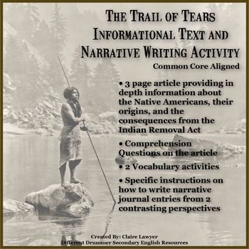 the native american trail of tears essay Trail of tears: overview of the trail of tears, the forced relocation in the 1830s of  native americans from the southeastern us to indian territory (oklahoma.