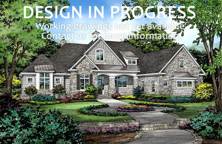 House Plan 1403 has been named The Sarafine! NOW IN PROGRESS! #WeDesignDreams #DonGardnerArchitects