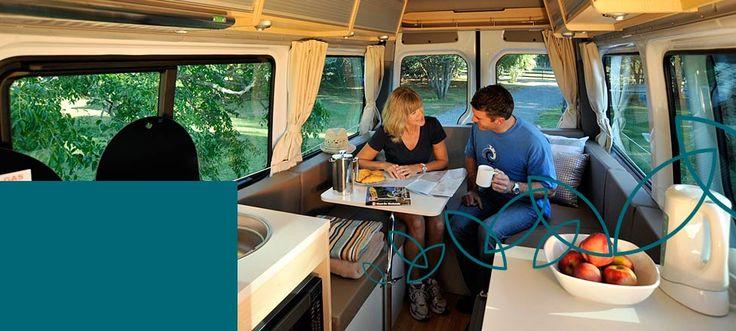 Campervan Hire NZ - RV, Motorhome & Car Rental - Maui New Zealand