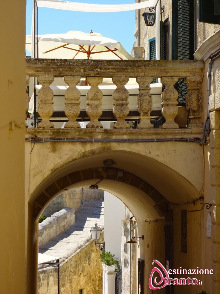 Otranto, particolare del Centro Storico