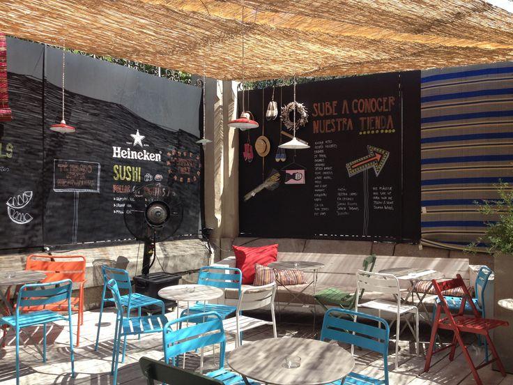 The Patio. Pop up con terraza chula, abierta hasta octubre. Precio medio: 20€