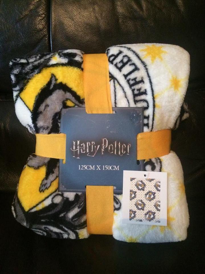 Harry Potter Primark Throw Slytherin Hogwarts Magical Creatures Blanket New