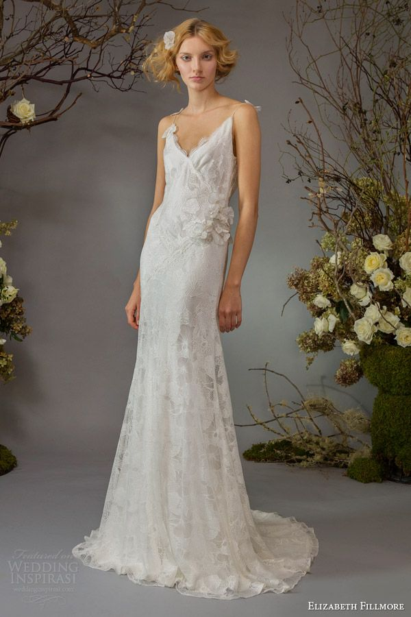 http://www.weddinginspirasi.com/2014/03/28/elizabeth-fillmore-fall-2014-wedding-dresses/ elizabeth fillmore fall 2014 bridal willa wedding dress straps #weddings #weddingdress